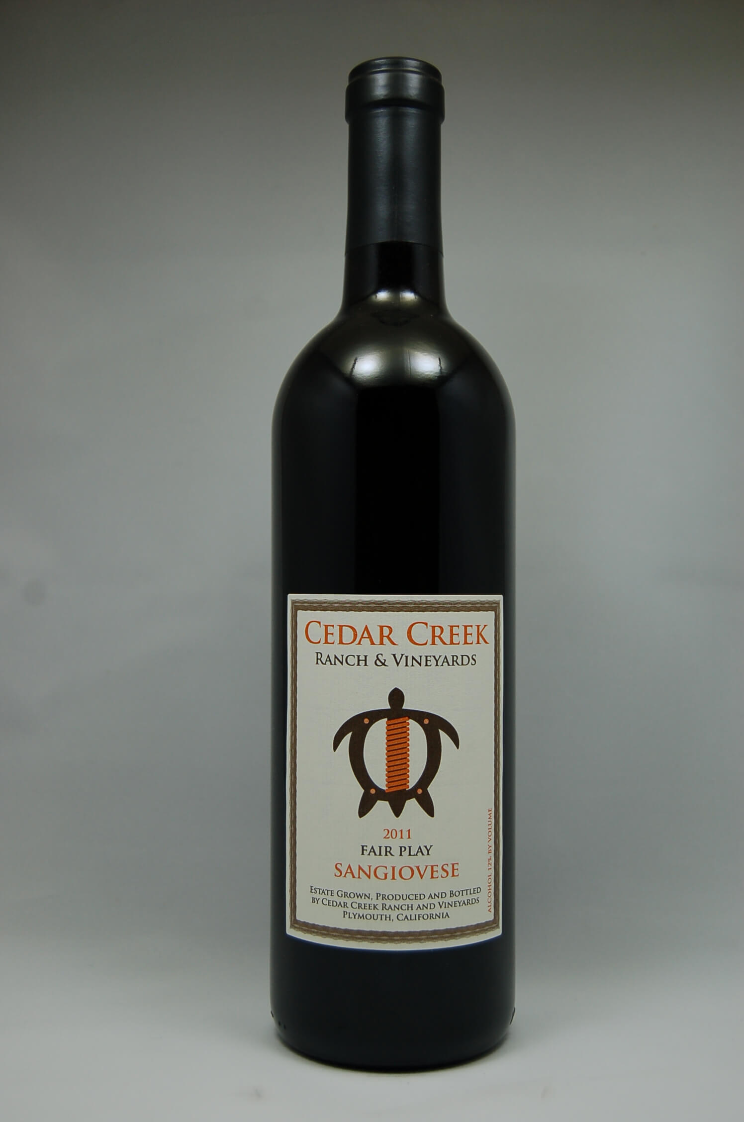 Cedar Creek Ranch Sangiovese 2011