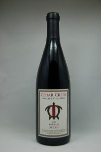 Cedar Creek Ranch Syrah 2011