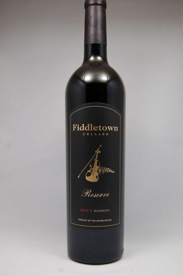Fiddletown Cellars Barbera Reserve 2013