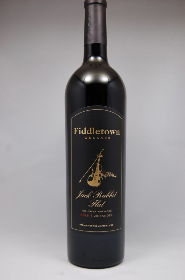 Fiddletown Cellars 2013 Jack Rabbit Flat Zinfandel