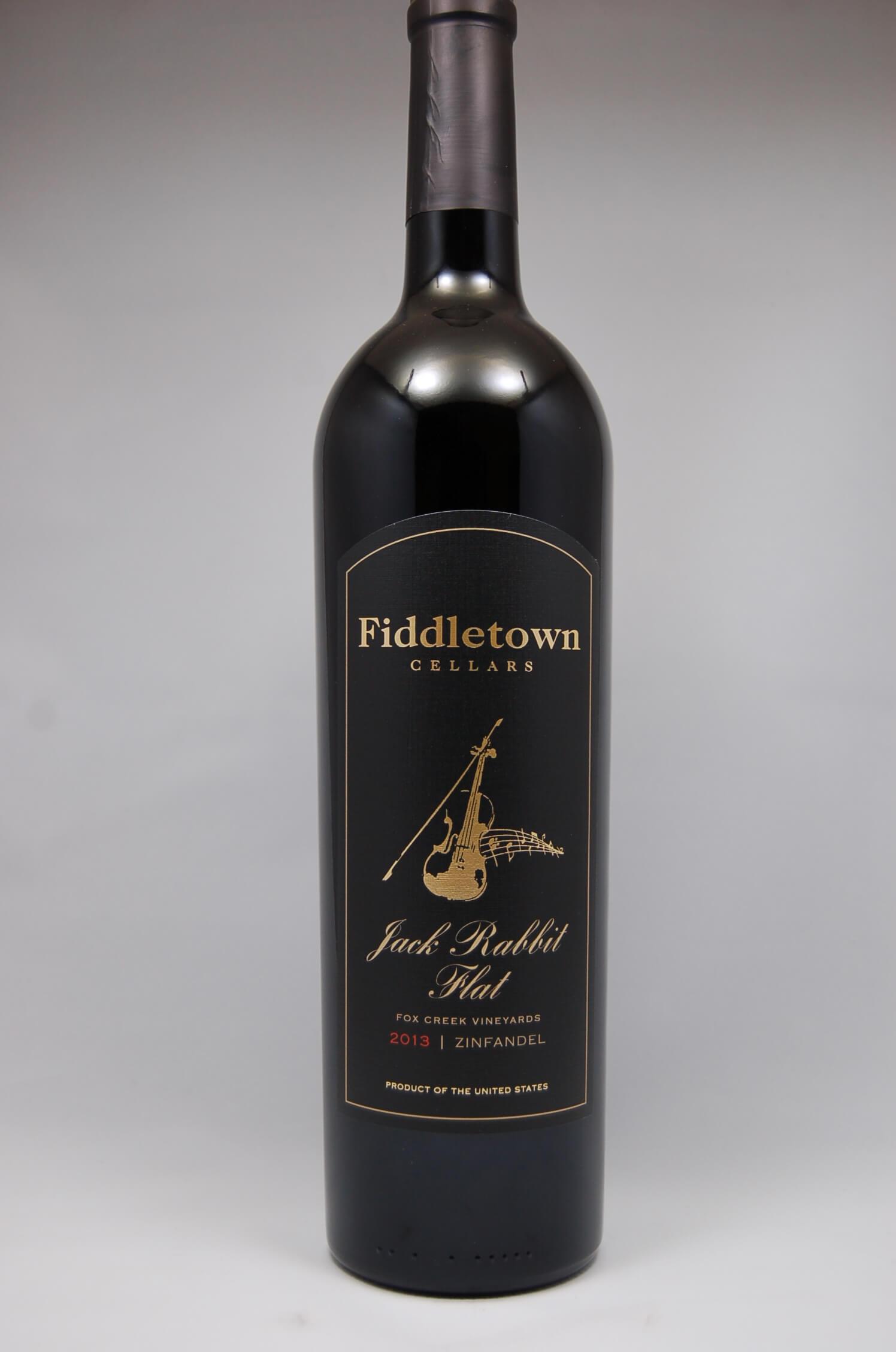 Fiddletown Cellars 2013 Jack Rabbit Flat Zinfandel