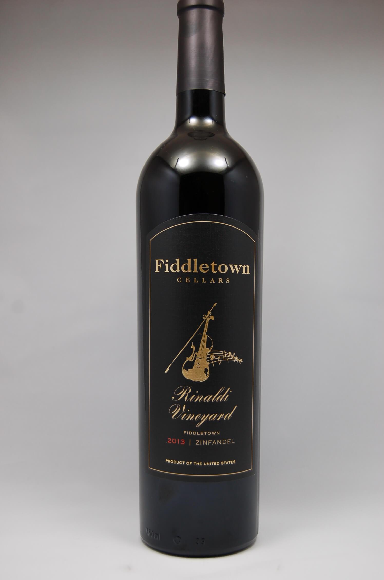Fiddletown Cellars 2013 Zinfandel Rinaldi Vineyard