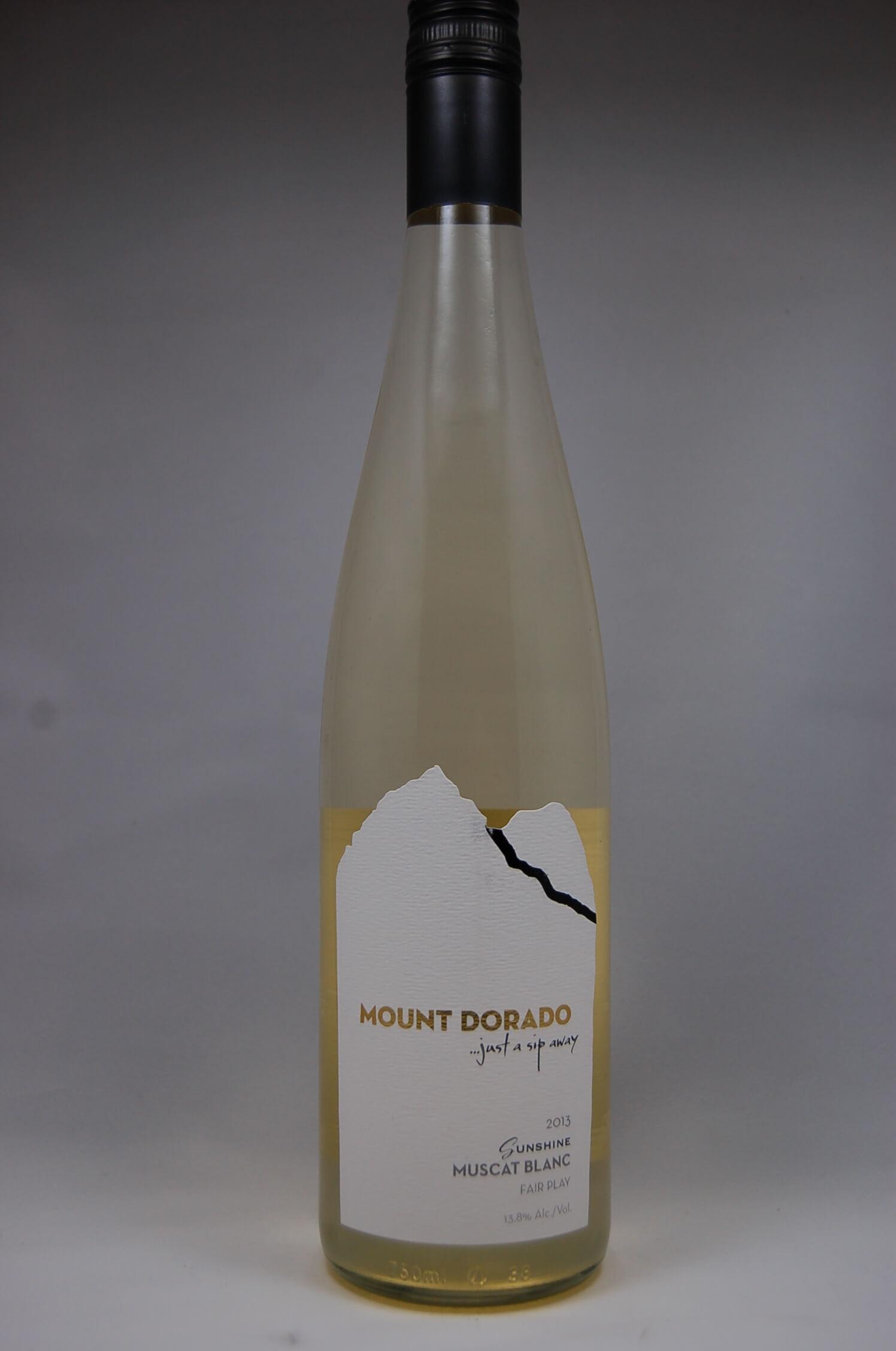 Mount Dorado Winery White Muscat 2013